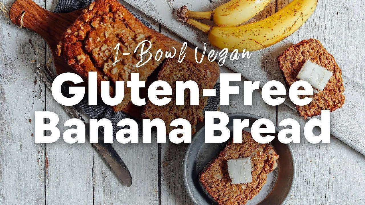 1 Bowl Vegan Gluten Free Banana Bread Minimalist Baker Youtube