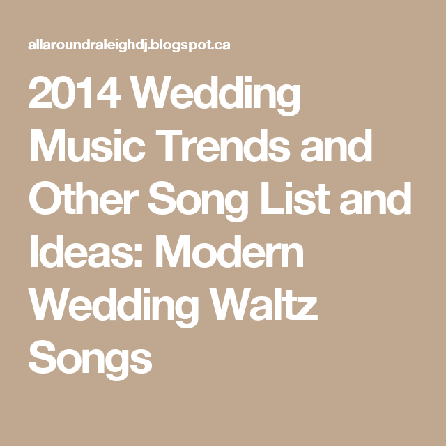 2014 Wedding Music Trends And Other Song List Ideas 31 Country Slow Dance Songs