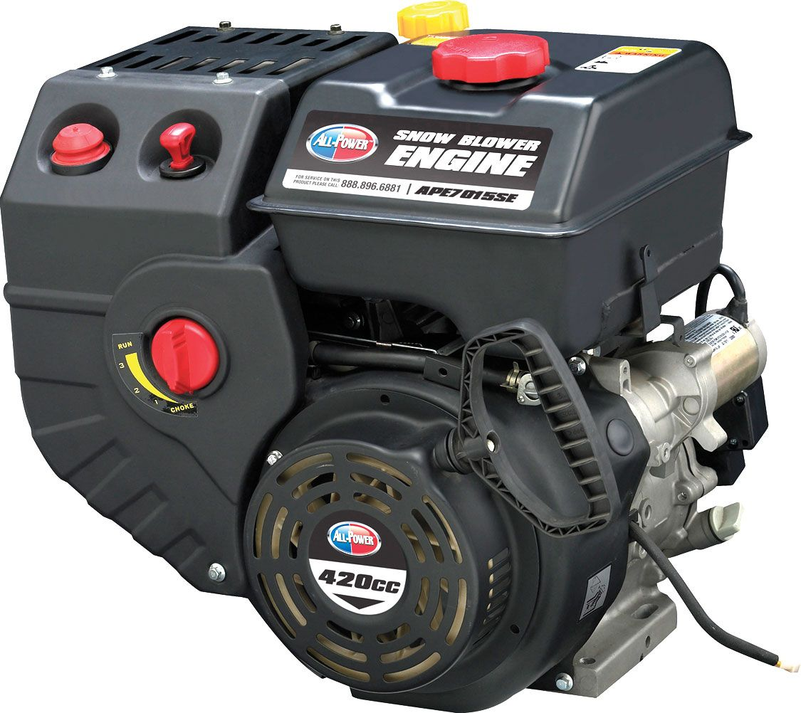15hp 420cc Horizontal Gas Engine For Winter Applications