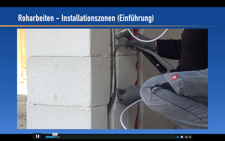 Rohbau Installationen Kabel Verlegen Kabel Einziehen Elektroinstallation Elektroinstallation Selber Machen Kabel Verlegen