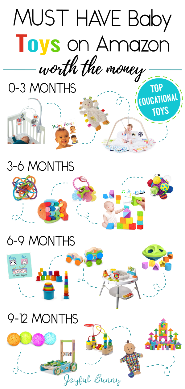 20 Must-Have Baby Toys on Amazon Worth the Money #toysforbabies
