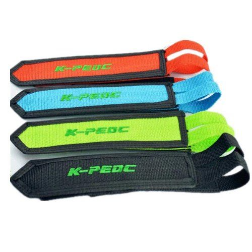 1 Pair Fixed Gear Fixie Bmx Bike Bicycle Double Velcro Pedal Toe Straps Blue Colour For More Information Visit Image Bike Pedals Pedal Straps Bicycle Pedals