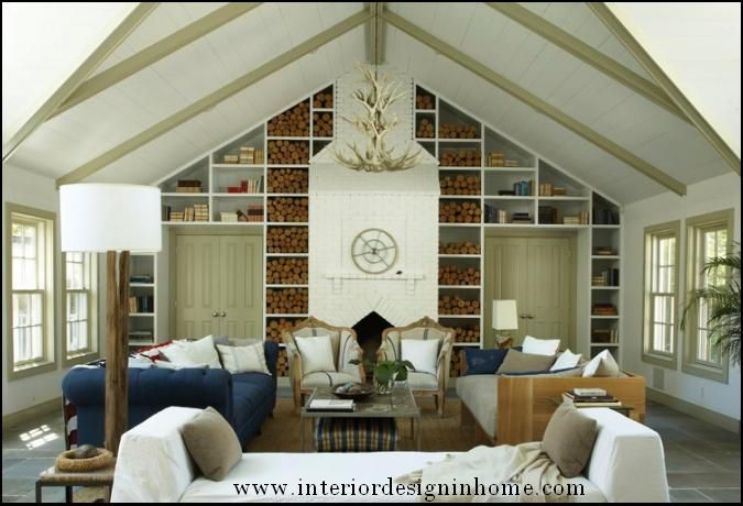 Amazing Vaulted Ceiling Design   Might Work On Our Half Ceiling?
