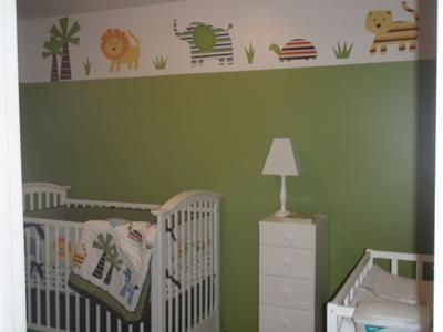 Aaron S Baby Gap Safari Nursery Theme Idea Was Inspired By The Bedding Set From Home Collection