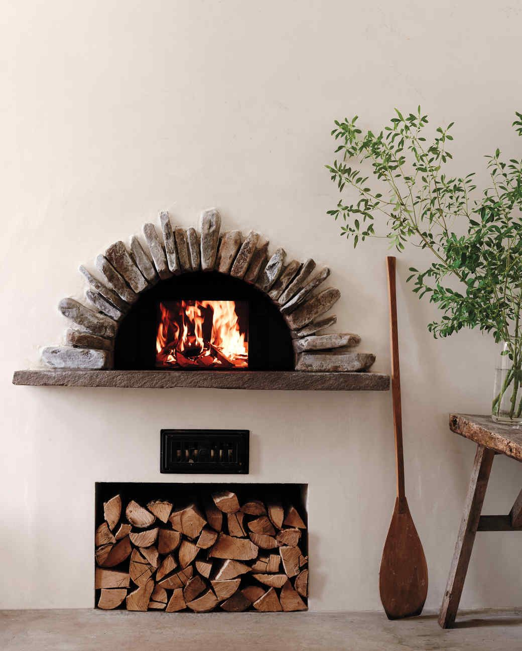 a handcrafted home the house tour indoor pizza oven oven and