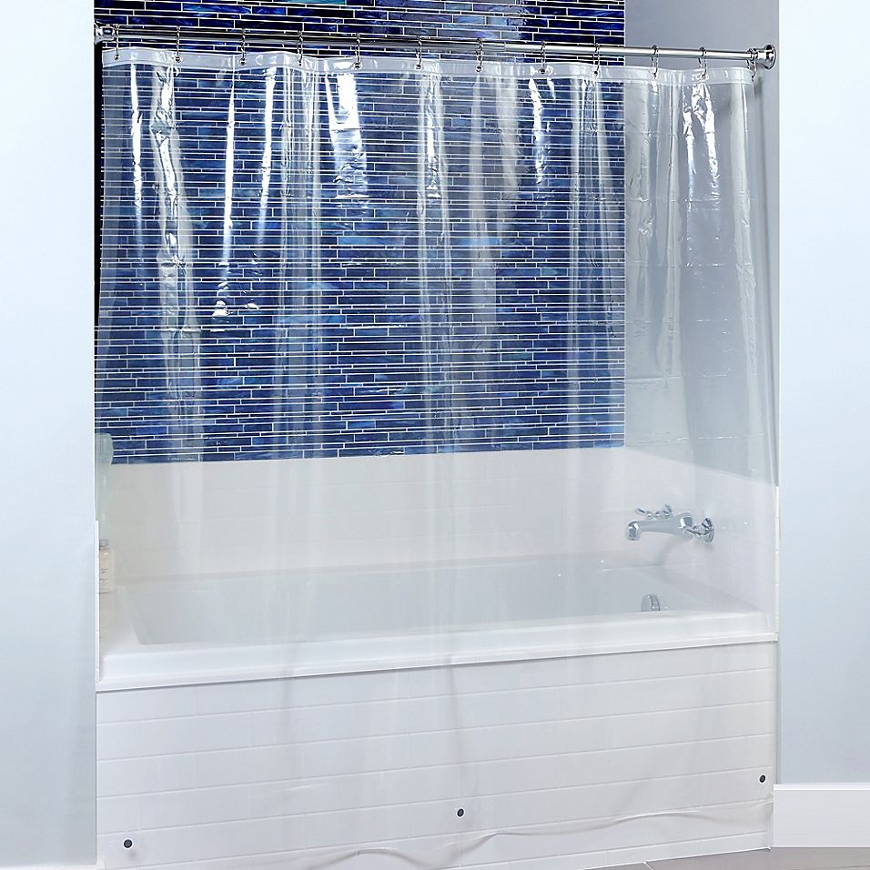 Extra Wide Peva Shower Curtain Liner In Clear Shower Liner