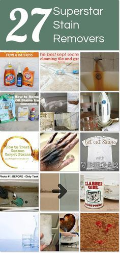 27 superstar stain removers | Hometalk