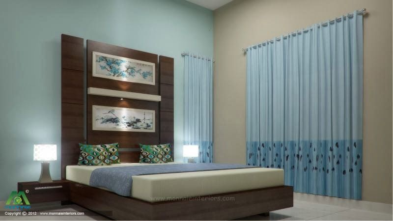 Simple Bedroom Design Kerala Style With Images Master Bedroom