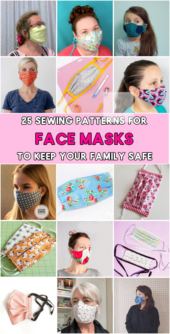 Photo of how to make a no sew face mask out of bandana