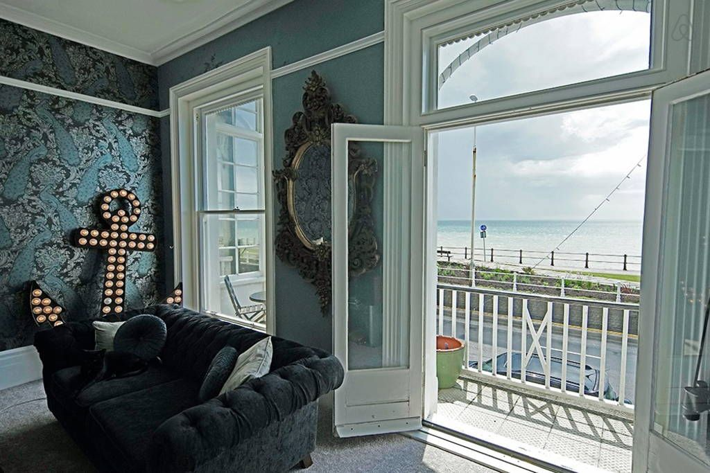 Check out this awesome listing on Airbnb: 4 bedroom, seafront, Regency house in Hastings