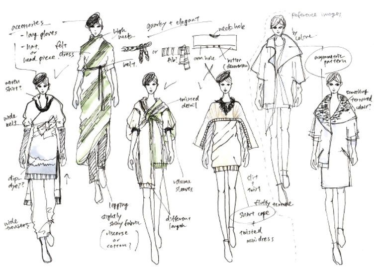 Initial Developed Ideas Designs Sketch Book Fashion Sketchbook Illustration Fashion Design