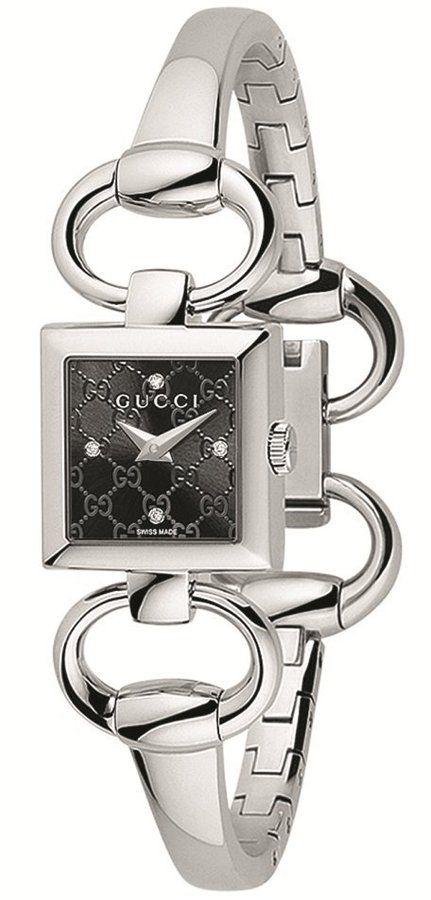 8452a66f1 Gucci Watch , Gucci Women's YA120507 Tornabuoni Square Black Dial Watch