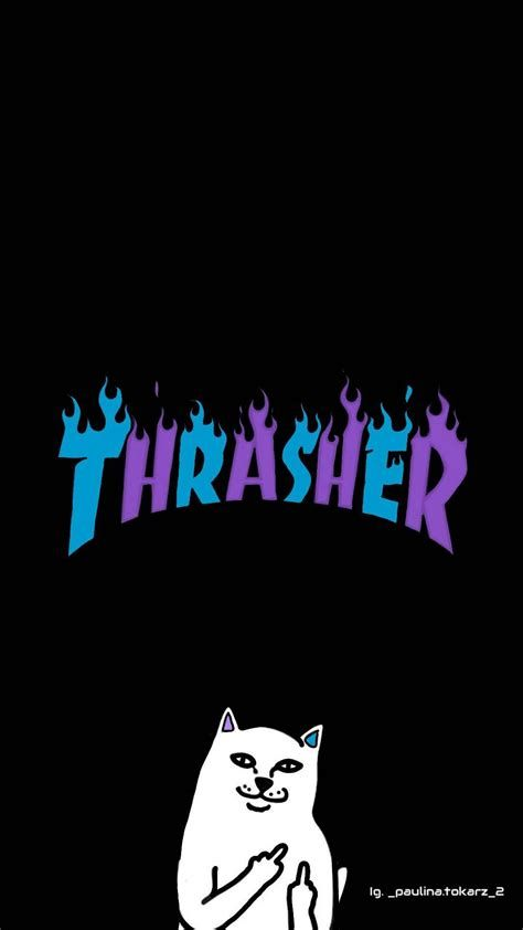 Tapeta THRASHER | Graffiti Wallpaper Iphone, Graffiti