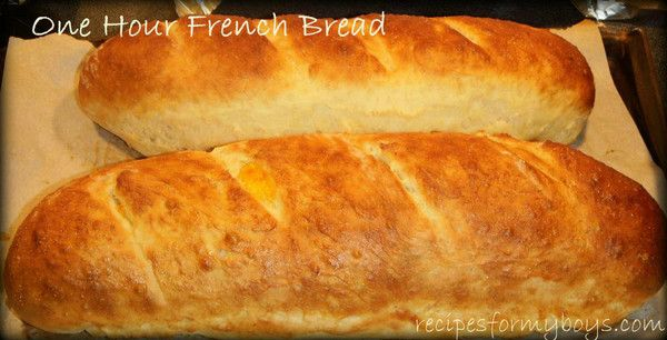 1 hr french bread 5 cup King Arthur unbleached all purpose ...