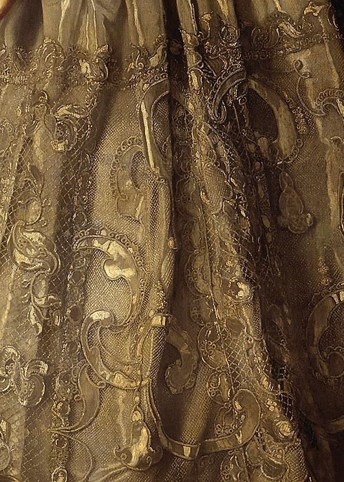 Portrait of Empress Anna Ioannovna by Louis Caravaque, 1730 (detail)