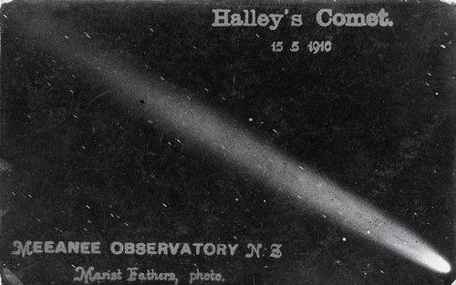 Resultado de imagen para cometa halley ilustración 1910