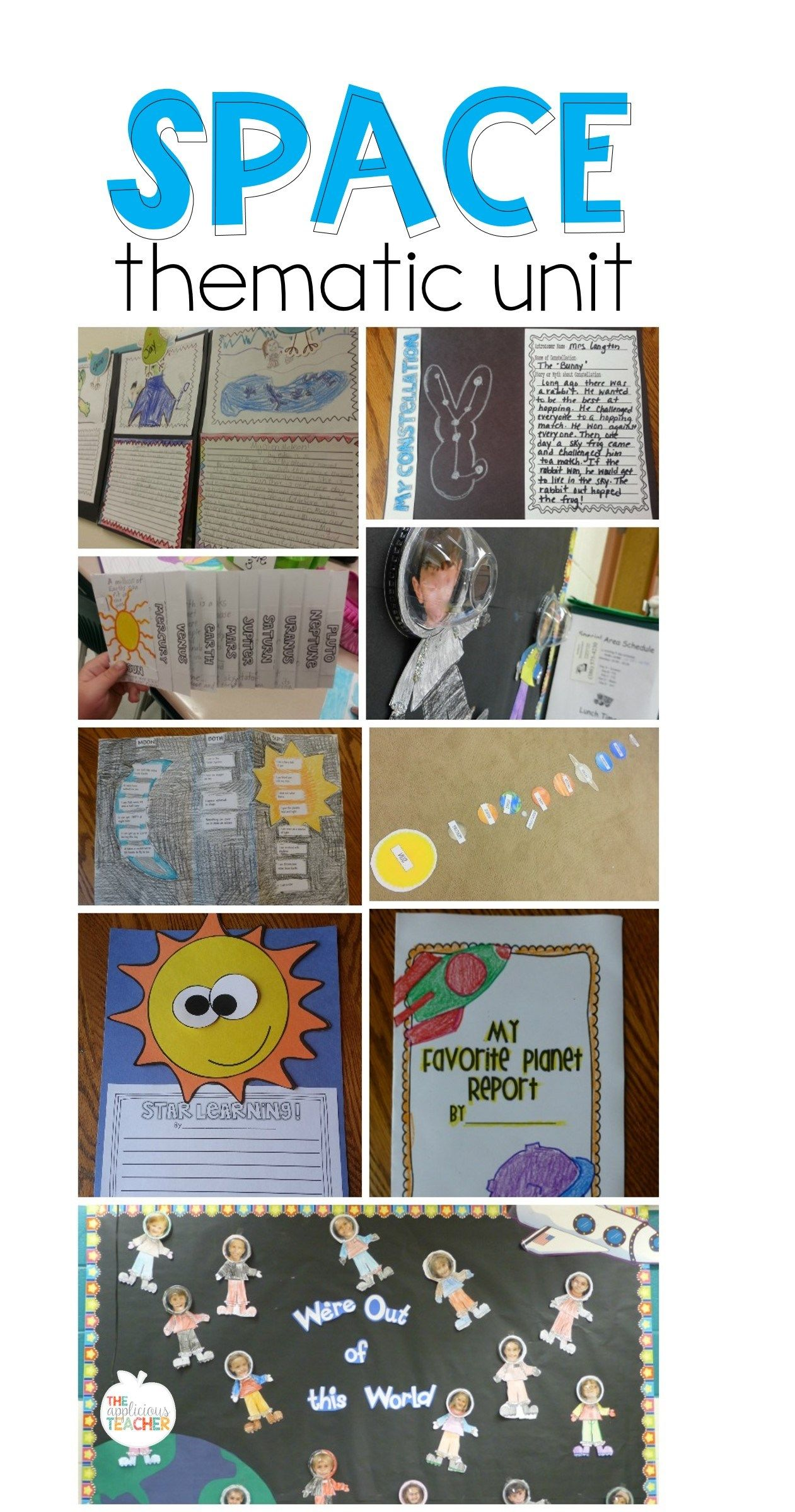 medium resolution of Space Activities for 2nd Grade   Space activities