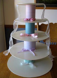 The Homemade Cupcake Tower