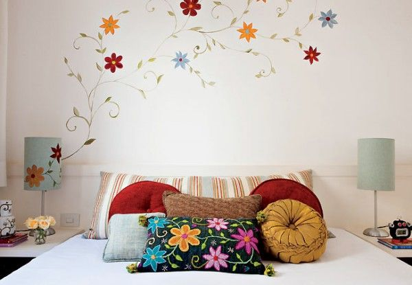 paredes-decoradas-3 Paredes Pinterest Bedrooms, Cozy and Interiors - paredes decoradas
