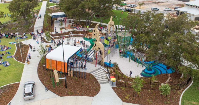 Providence 04a Playground design, Playground structures