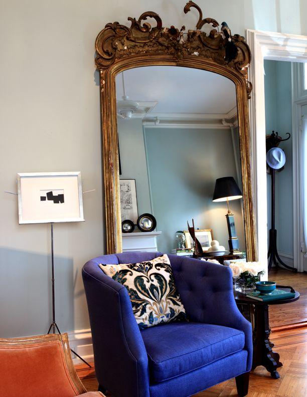 Old Mirror. Interiors by Juan Carretero