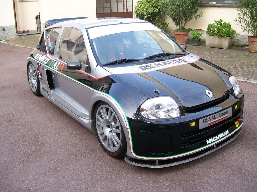 racecarads race cars for sale renault clio v6 3000 trophy renault pinterest cars. Black Bedroom Furniture Sets. Home Design Ideas