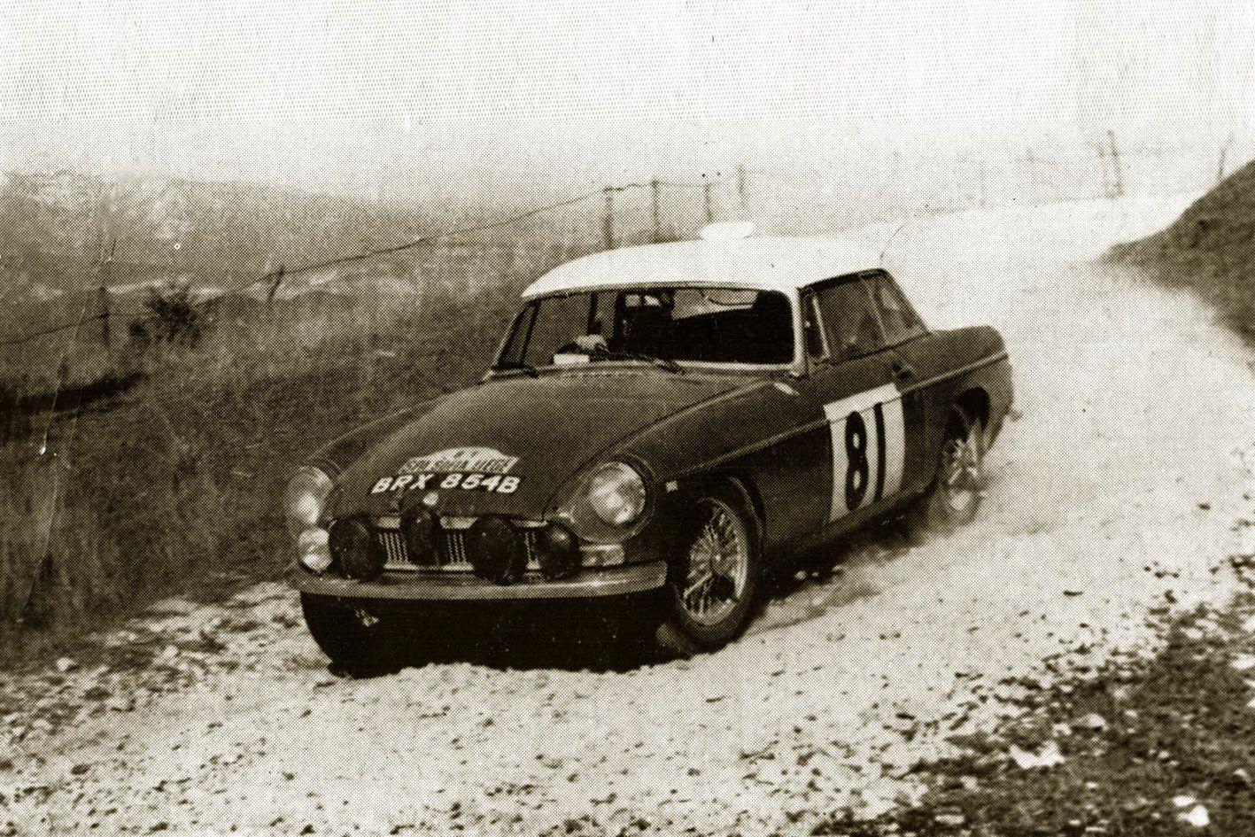 The Last MGB Works Rally Car | Rally car, Rally and Cars