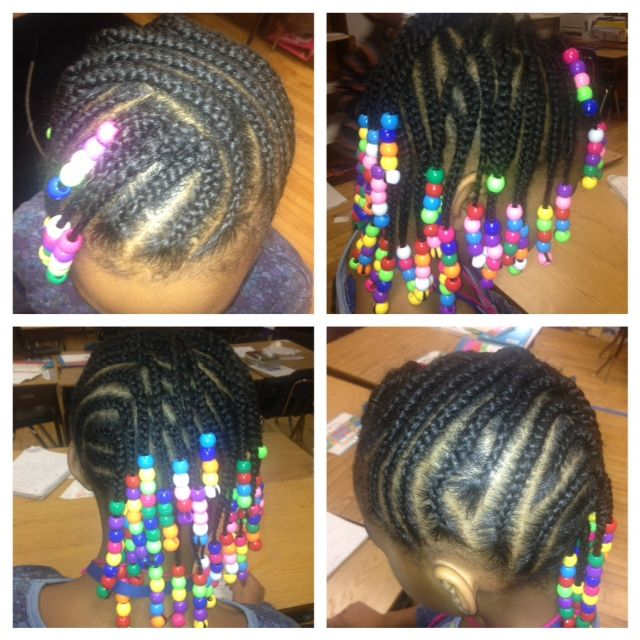 Sensational 1000 Images About Kids Hairstyles On Pinterest Cornrows Little Hairstyles For Women Draintrainus