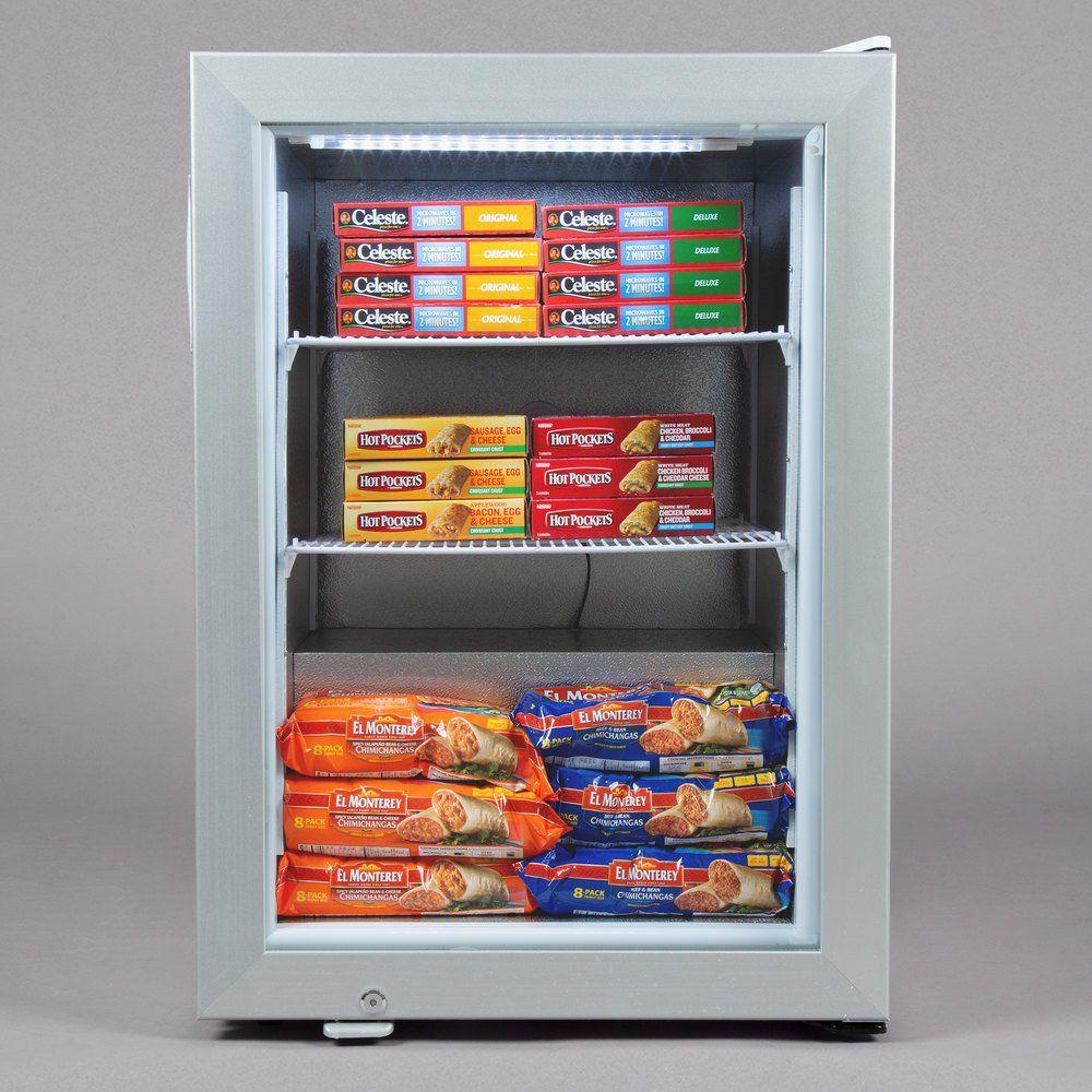 Avantco Cfm3 White Countertop Display Freezer With Swing Door White Countertops Countertop Display Countertops