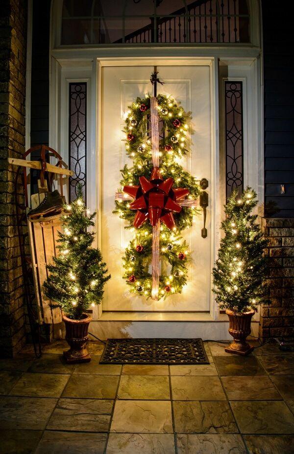 diy outdoor christmas decorations in 2018 diy christmas decor pinterest diy christmas christmas decor and wreaths - Diy Outdoor Christmas Decorations Pinterest