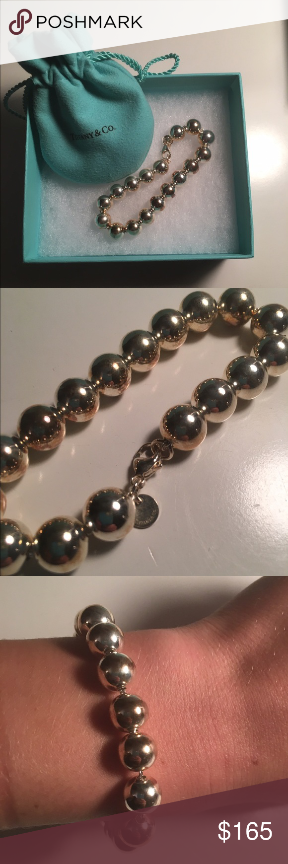 Tiffany bead bracelet in sterling silver Never worn! In perfect condition. Tiffany & Co. Jewelry Bracelets