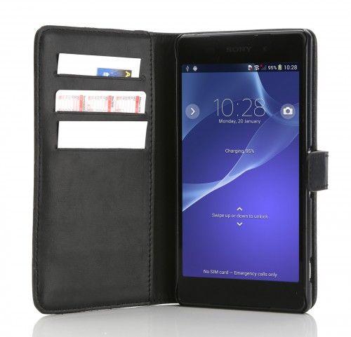 Mobiletto Sony Xperia Z2 CEO Lederetui - Schwarz