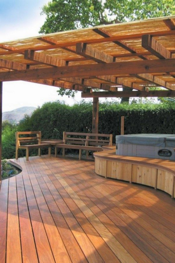 Landscape Ideas For Your Home Garden In 2019 Wood Deck