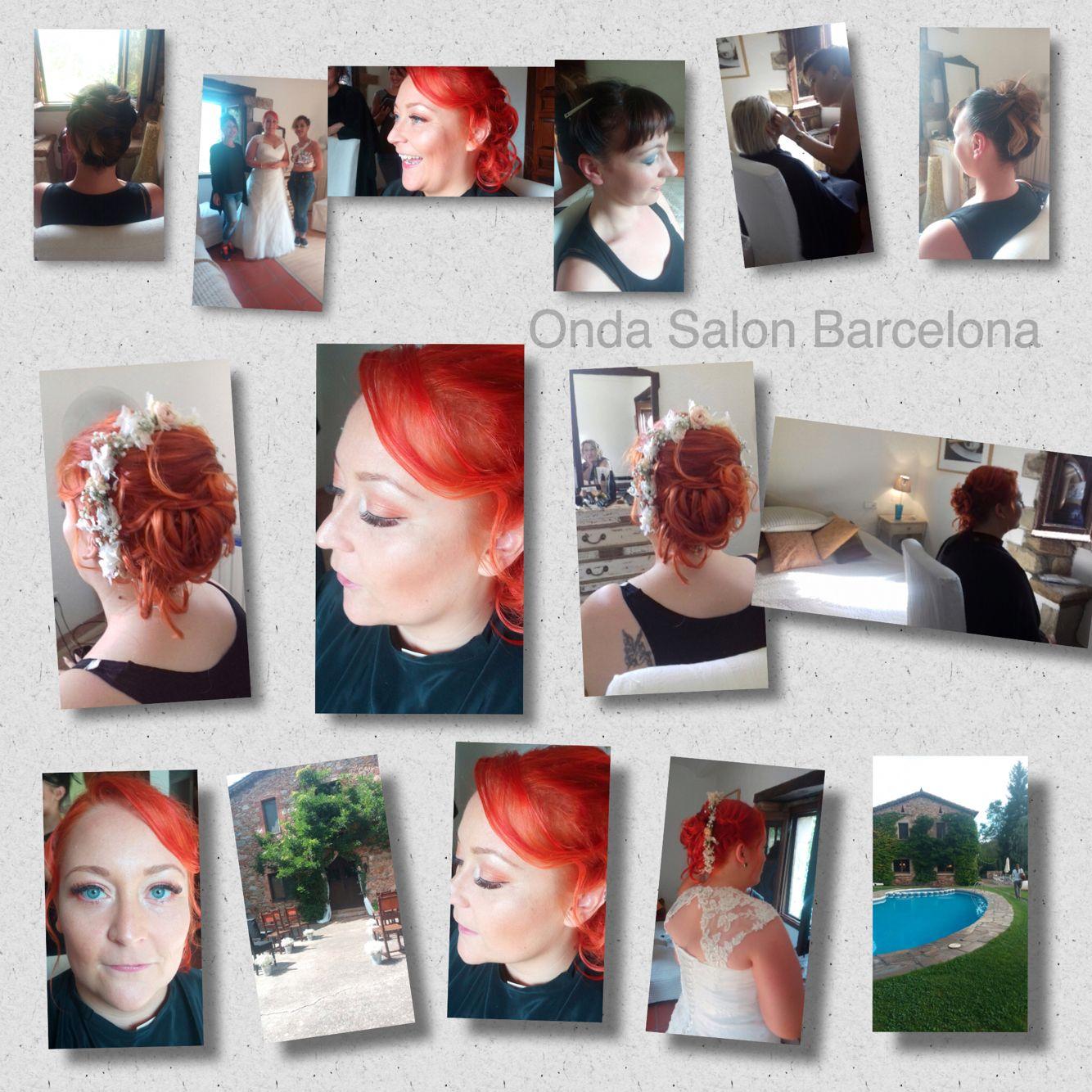 Día de boda para Onda Salon en una casa rural de Arbucies - Wedding day for Onda Salon at a country house in #arbucies, hair and makeup by THE ONDA SALON TEAM.  #diadeboda #weddingday #peinados #recogidos #maquillaje #hairstyles #hairup #makeup #diadebodabarcelona #weddingdaybarcelona #peluqueriabarcelona #ondasalobarcelona #peluqueria #ondasalon #ondasalonteam #peluqueriabarceloneta #barceloneta #barcelona
