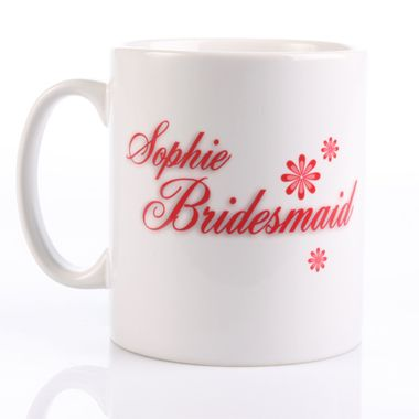 A wedding thank you gift for your Bridesmaids for all of their help and support on your Big day.