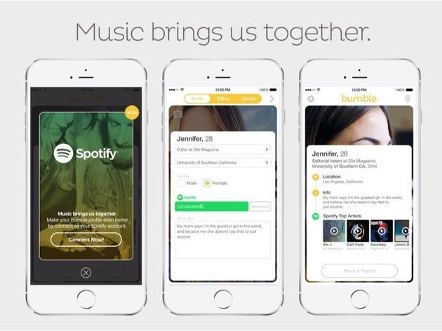 Spotify And Bumble Will Finally Let You Judge Matches