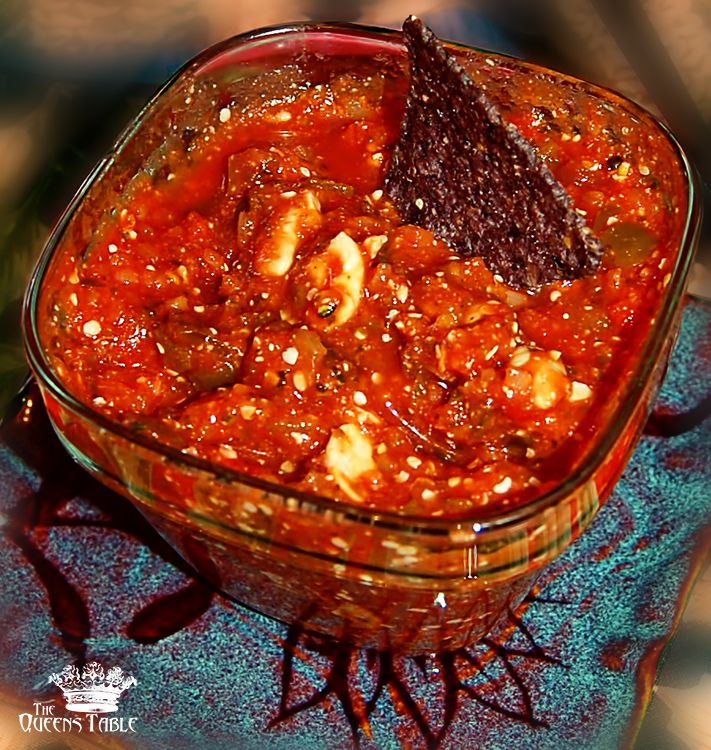 nutty hemp cashew salsa