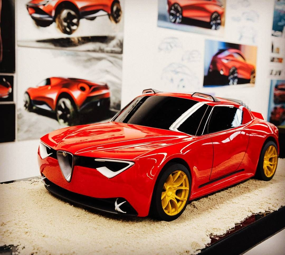 Alfa Romeo Vettore Concept Created By Charlie Angulo