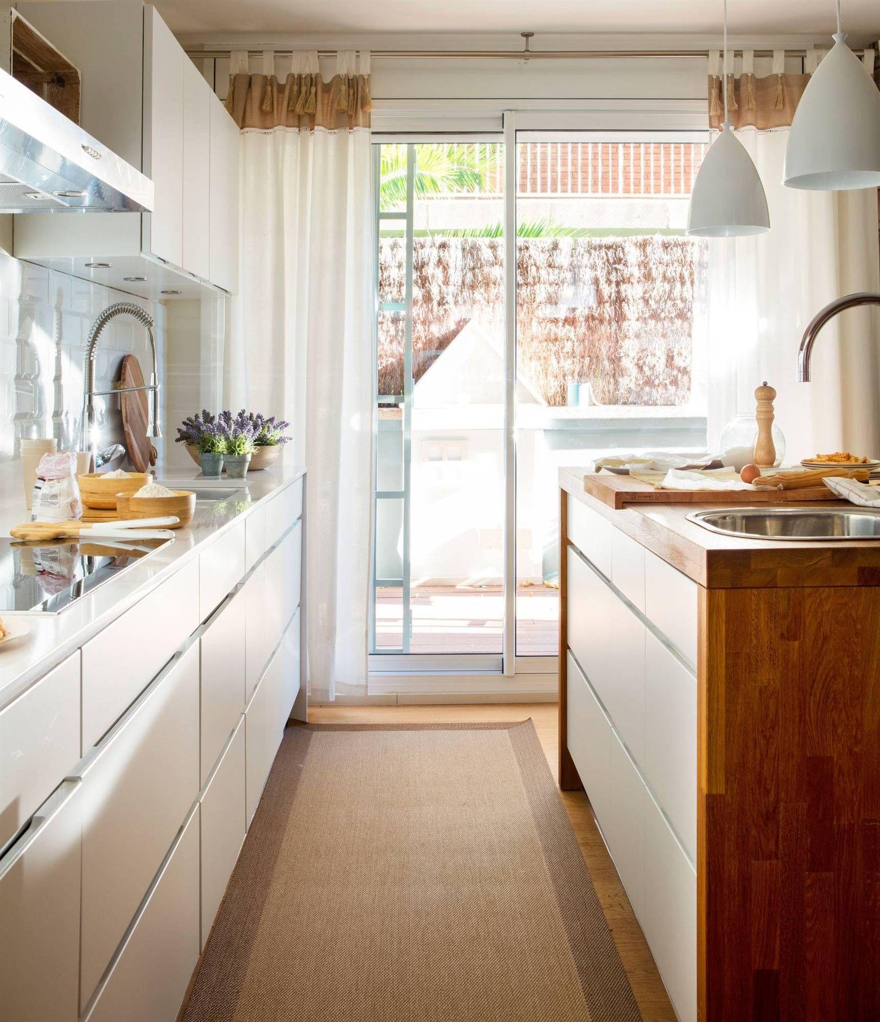 En la cocina, cortinas que resistan | Sofas&livings ...