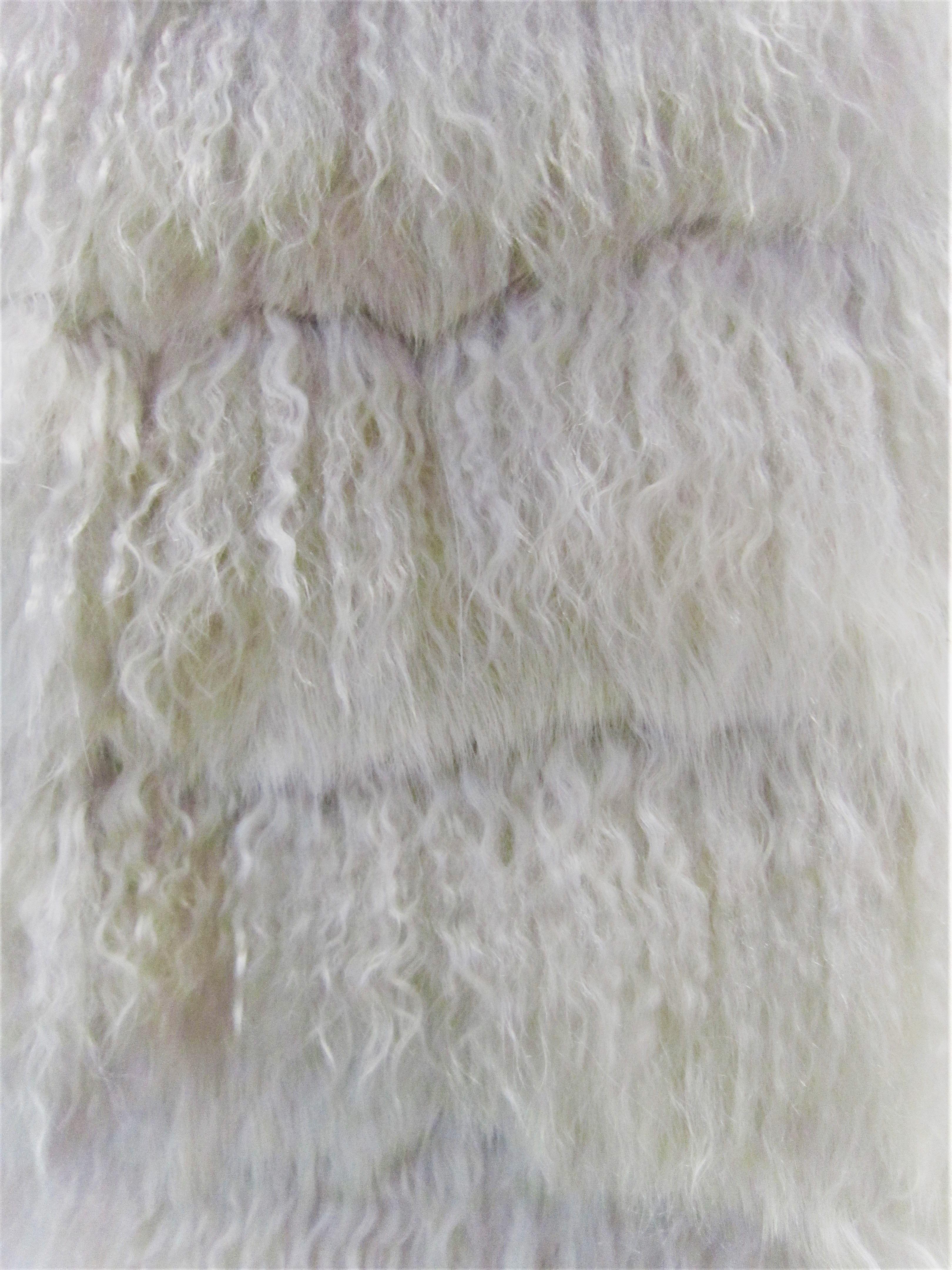 Ak europe | mongolian fur | white shades | fluffy | soft fur | winter cozy | furrery | italian style