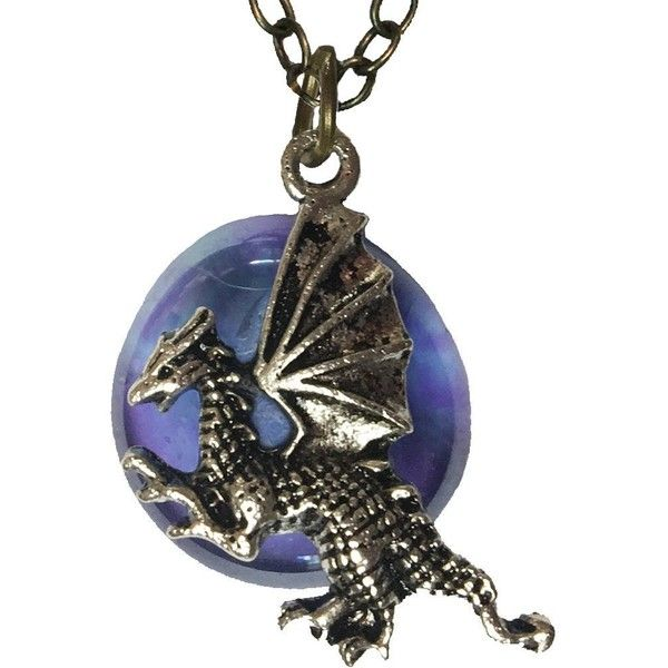 Dragon and mystical stone fantasy pendant with 20 inch chain dragon and mystical stone fantasy pendant with 20 inch chain necklace 16 liked aloadofball Choice Image