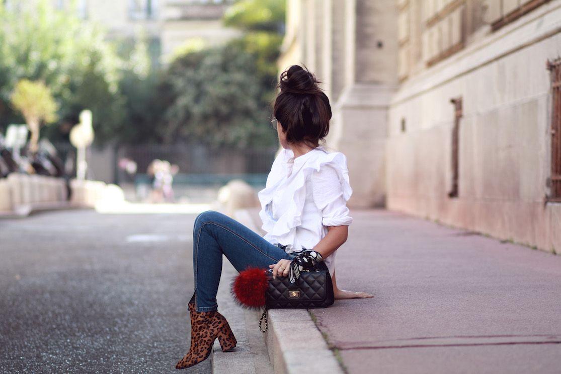 Look Chemise Volants H M Blog Mode Le Petit Monde De Julie Mode Blog Mode Blog Mode Tendance