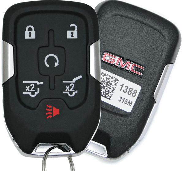 2016 Gmc Yukon Smart Proxy Keyless Remote Key