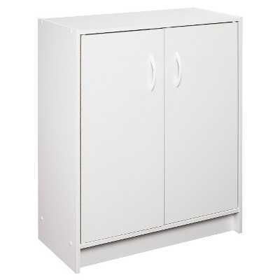 Closetmaid Two Door Storage Cabinet White Storage Furniture Door Organizer Door Storage
