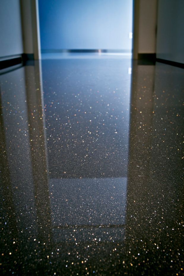 Gietvloer Met Glitters Glitter Floor Patterned Floor Tiles Epoxy Floor