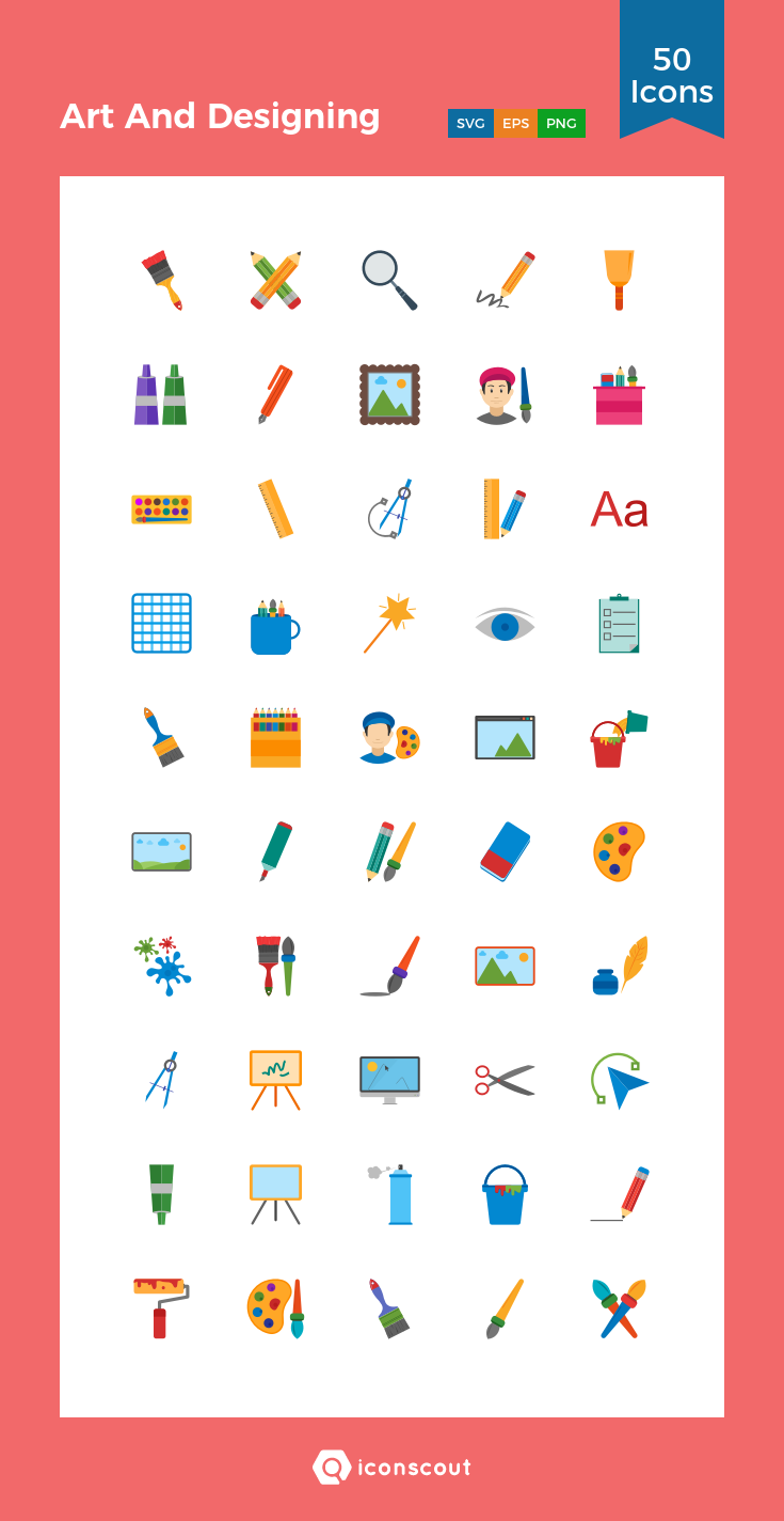 Download Download Art And Designing Icon pack - Available in SVG ...