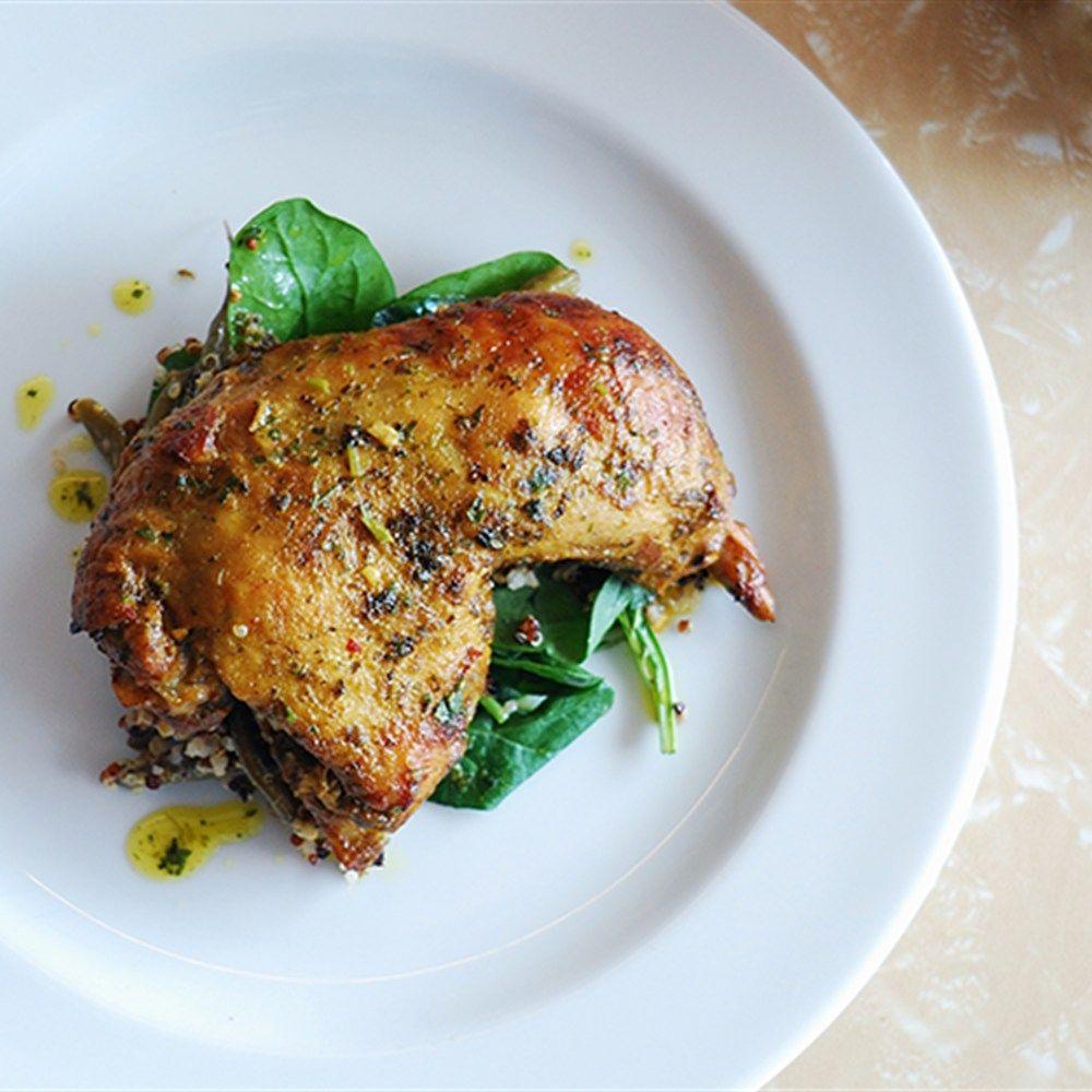Chicken Maryland With Spiced Yoghurt Recipe Lifestyle Recipe Recipe Using Chicken Raw Food Recipes Slow Roast Chicken