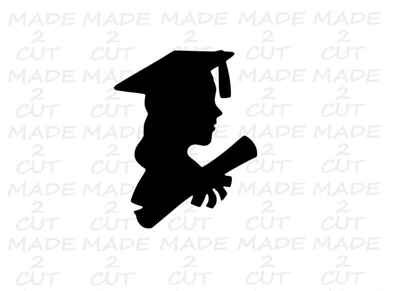 Graduation Svg Cap And Gown Design Boy Girl Graduation Etsy In 2021 Graduation Girl Graduation Silhouette Cap And Gown