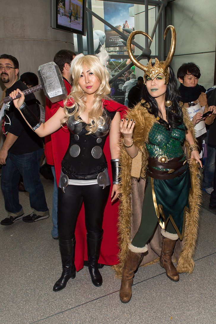 Pin for Later: The Cosplay of New York Comic-Con Was So Good Thor and Loki