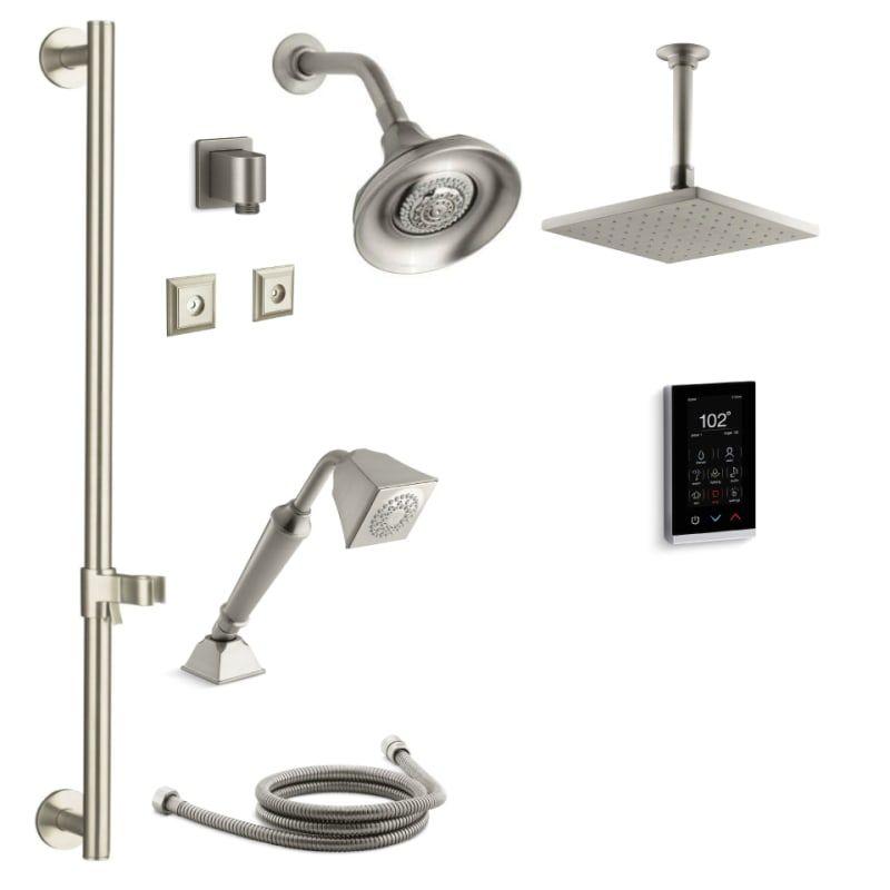 Kohler K Memoirs Dtv27s Bn Memoirs Dtv Shower Build Com Shower System Hand Shower Shower Heads Kohler multi head shower system